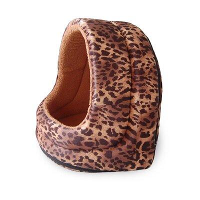 Fur Hood Cat Bed Color: Leopard