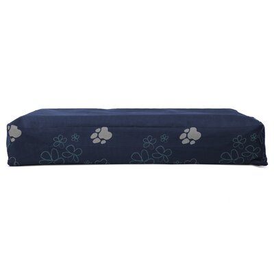 Garden Indoor/Outdoor Orthopedic Dog Mat Color: Lapis Blue