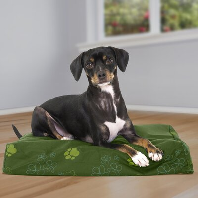 Garden Indoor/Outdoor Orthopedic Dog Mat Color: Jungle Green