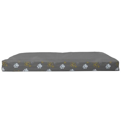 Garden Indoor/Outdoor Orthopedic Dog Mat Color: Iron Gray