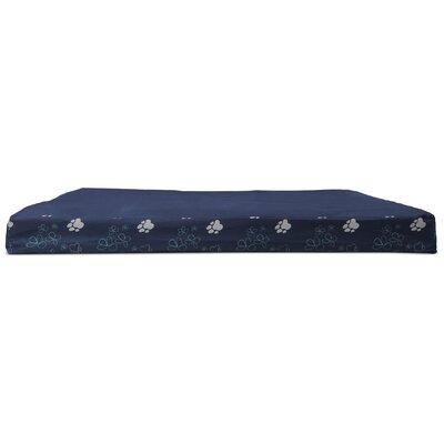 Dashiel Garden Indoor/Outdoor Orthopedic Dog Mat Color: Lapis Blue