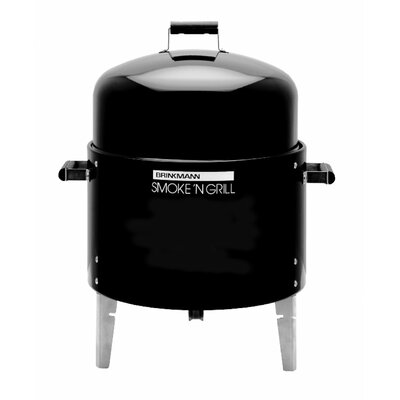 Smoke'N Grill Single Charcoal Smoker and Grill