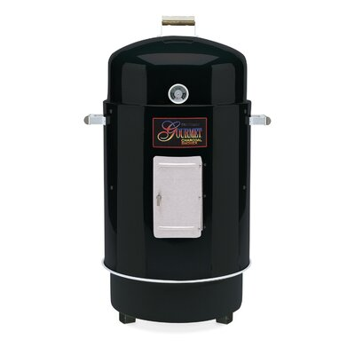 Brinkmann Gourmet Charcoal Smoker and Grill Finish: Black