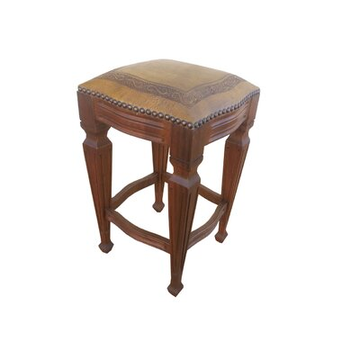 Zorro 30 Bar Stool (Set of 2) Upholstery: Mustard