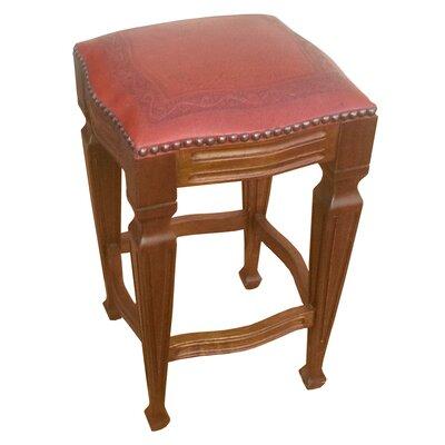 Zorro 30 Bar Stool (Set of 2) Upholstery: Red