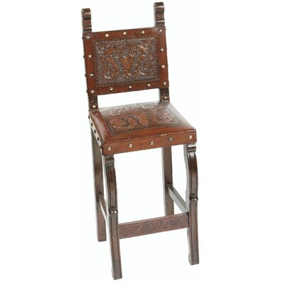 Colonial Bar Stool Finish: Rustic
