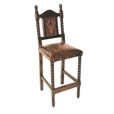 Colonial Bar Stool Finish: Antique Rustic
