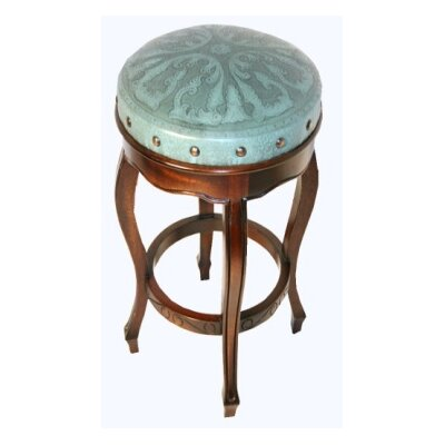 Tylersburg 30 Bar Stool Color: Turquoise