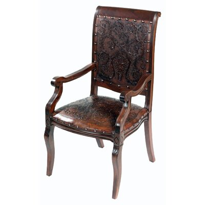 Colonial Imperial Leather Armchair (Set of 4)