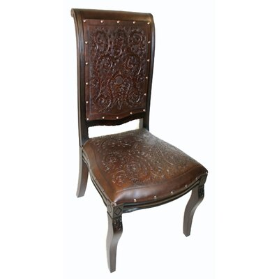 Colonial Imperial Leather Side Chair (Set of 4)