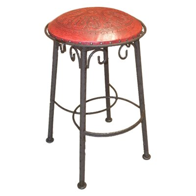 26 Bar Stool (Set of 2) Upholstery: Red