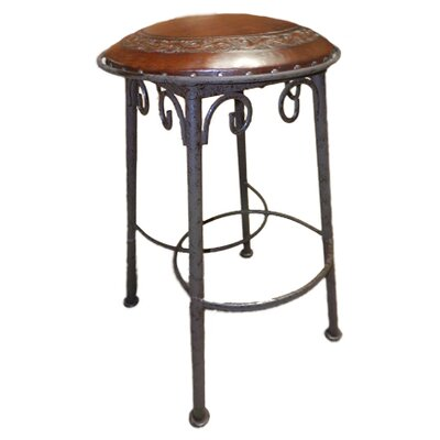 30 Bar Stool (Set of 2) Upholstery: Antique Brown