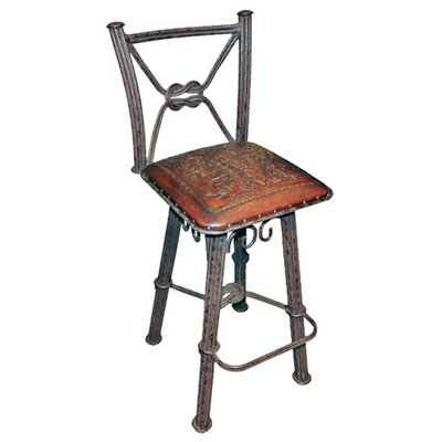 Chaucer Traditional 30 Metal Bar Stool (Set of 2)