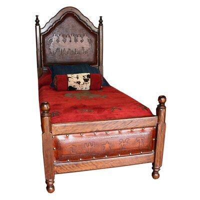 Spanish Panel Bed