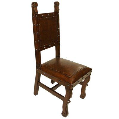 Spanish Heritage Side Chair Finish: Antique Brown