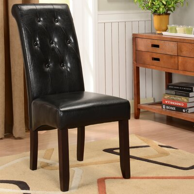InRoom Designs Parson Chairs - Upholstery: Black (Set of 2) at Sears.com