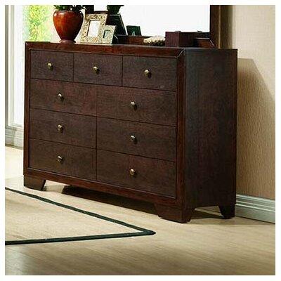 9 Drawer Double Dresser