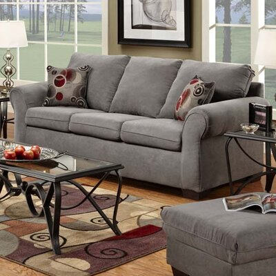Queen Sleeper Sofa Upholstery: Graphite