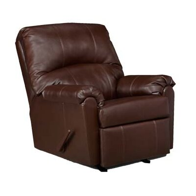 Rocker Recliner Upholstery: Walnut