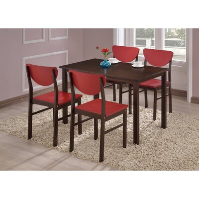 Alesha 5 Piece Dining Set