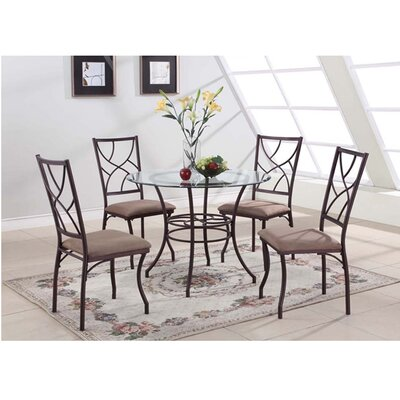 Adella 5 Piece Dining Set