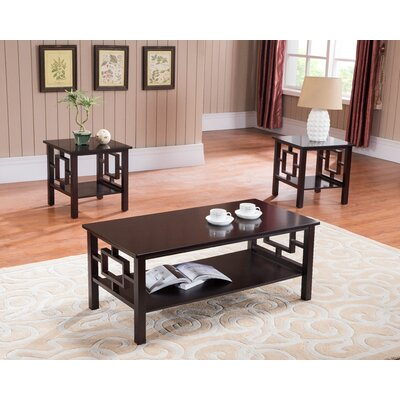 Carewe 3 Piece Coffee Table Set