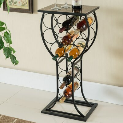 Call 11 Bottle Floor Wine Rack