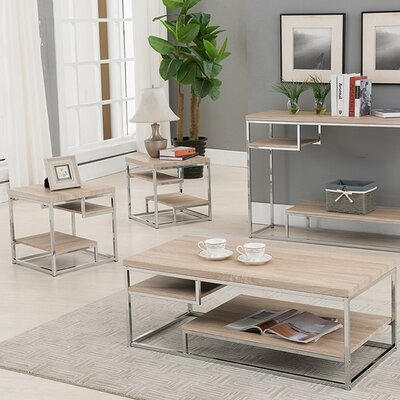 Anchondo 3 Piece Coffee Table Set