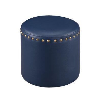 Pouf Upholstery: Blue