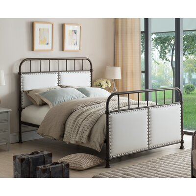 Upholstered Panel Bed Size: Full