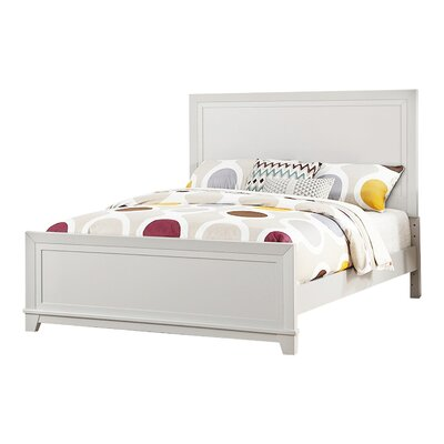 Iesha Panel Bed Size: Full, Bed Frame Color: Soft White