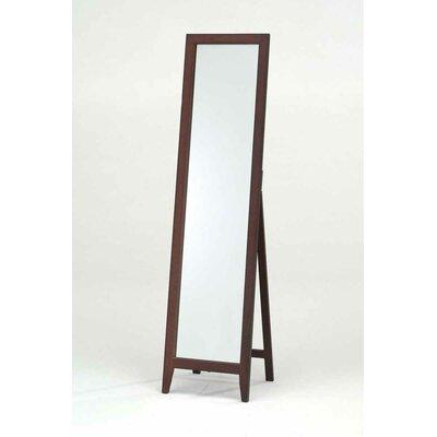 InRoom Designs Standing Mirror - Finish: Walnut