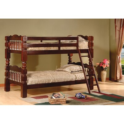 Twin Bunk Bed Finish: Esprit Cherry