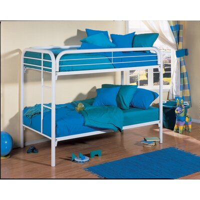 Twin Bunk Bed Finish: Blue