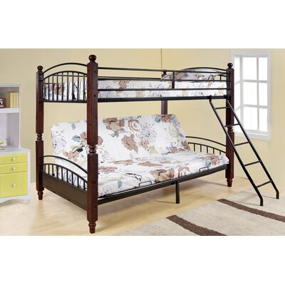 No credit check financing Twin over Futon Bunk Bed...