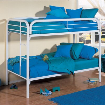 Twin Bunk Bed Finish: White