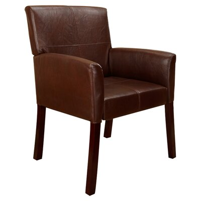 Accent Arm Chair Upholstery: Brown