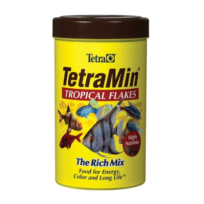 Picture of Tetra Tetramin Flake Food Size: 7.06 oz. in Large Size