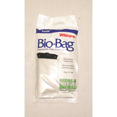 Low Price Tetra Whisper Bio Bag Filter Cartridge Size: Large / 8 Pack
