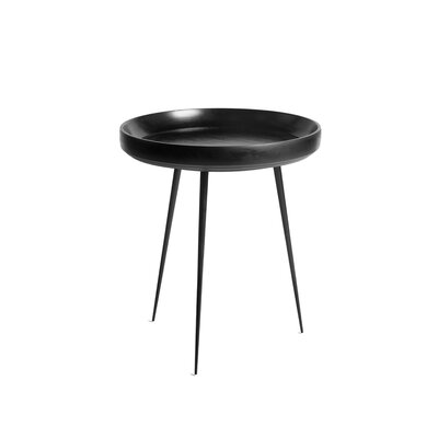 Bowl End Table Finish: Black Stain