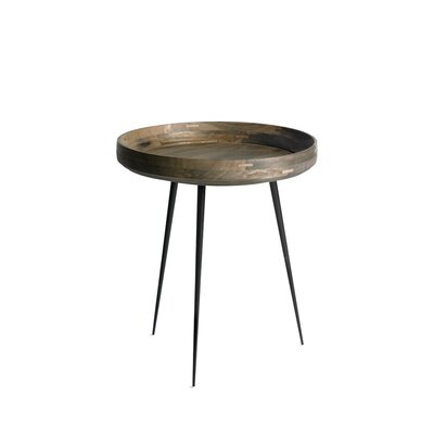 Bowl End Table Color: Sirka Grey Stain