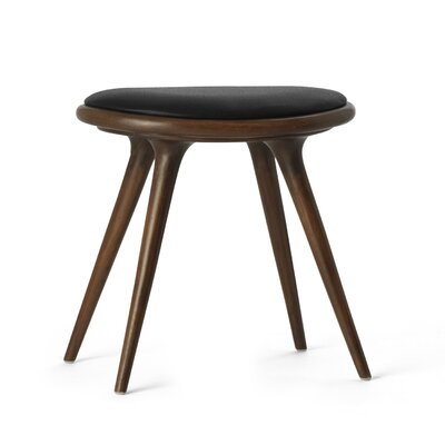 18 Bar Stool Upholstery: Sirka Grey Stained Oak