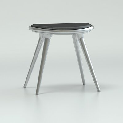 18 Bar Stool Upholstery: Aluminum