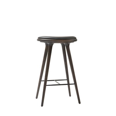 29 Bar Stool Upholstery: Sirka Grey Stained Oak