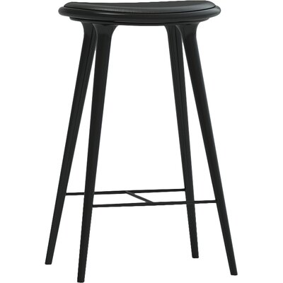 27 Bar Stool Finish: Black Hardwood