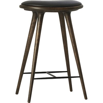 27 inch Bar Stool Finish: Sirka Grey Stained Oak