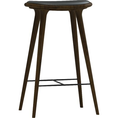 27 Bar Stool Finish: Dark Stained Beech Wood