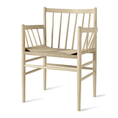 Danish Classic Arm Chair Finish: Natural Oak/W/ Armrest - Natural Paper Cord