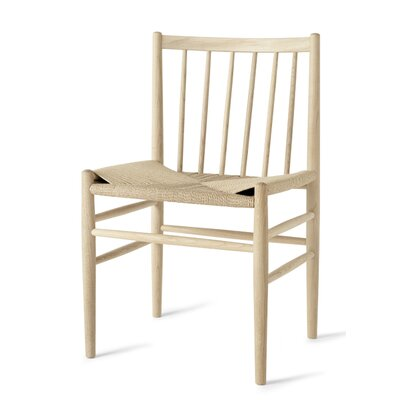 Danish Classic Side Chair Finish: Natural Oak/Natural Paper Cord