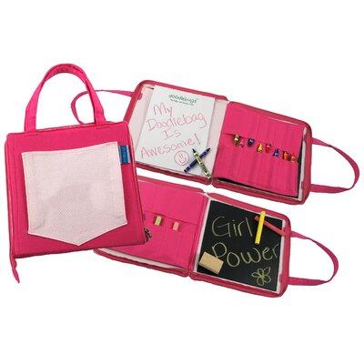 12Doodlebugz Crayola Doodlebag in Hot Pink / Light Pink